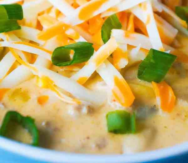 Creamy Ground Chicken Chili is an easy dinner recipe.