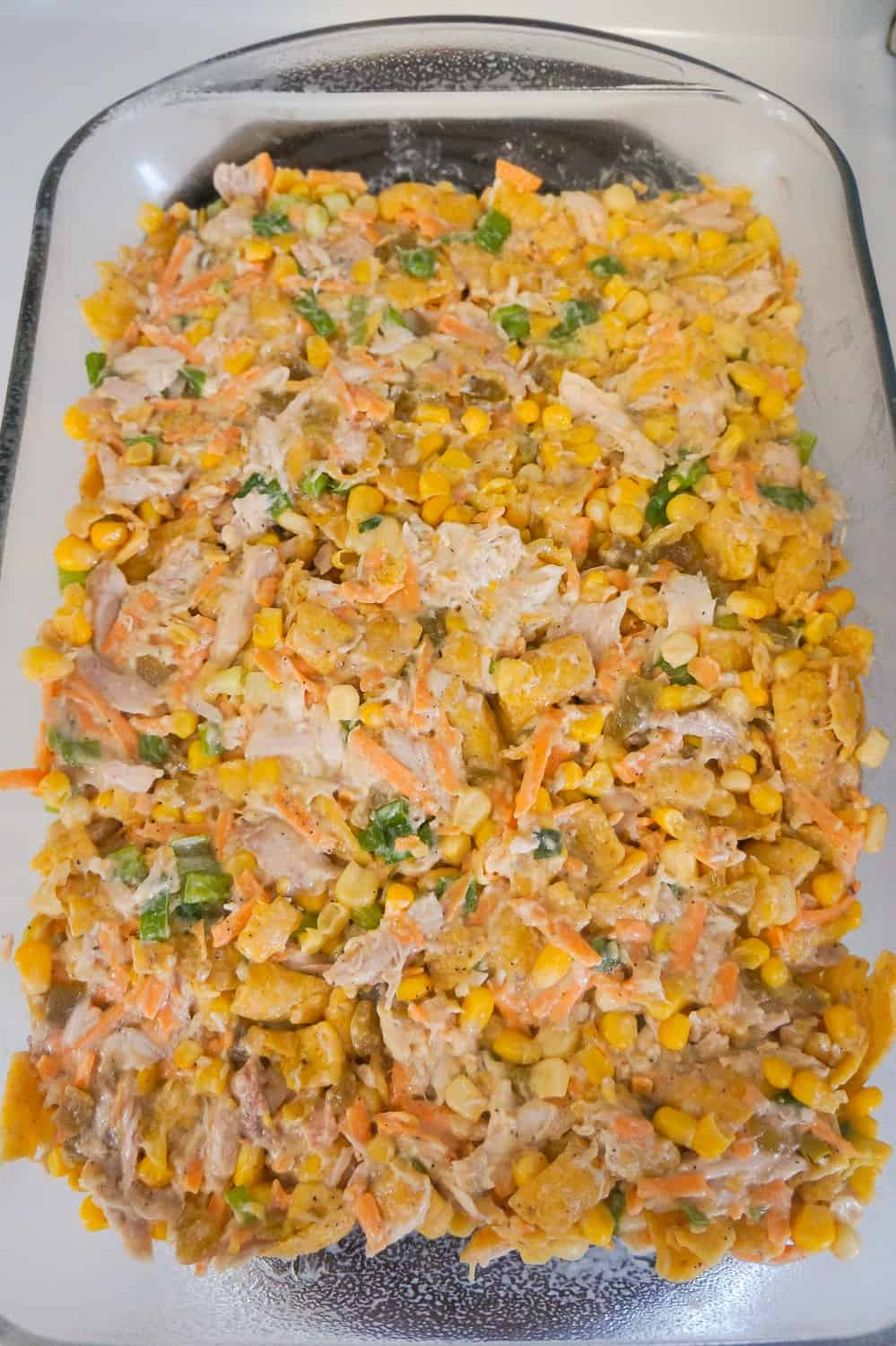 fritos chicken casserole filling