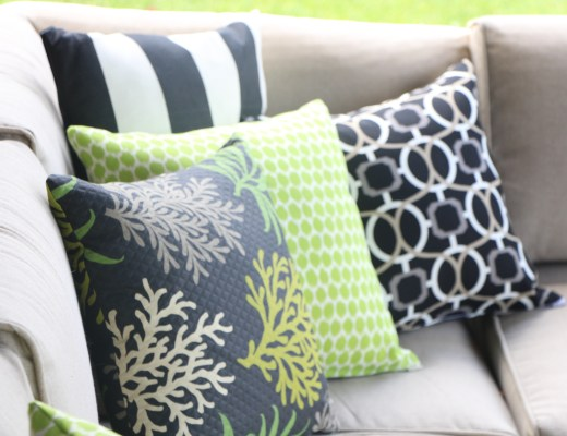 outdoor oasis DIY pillows - thisisourbliss.com
