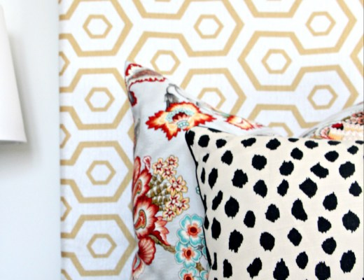 Guestroom Revamp   How to Mix Prints   Pattern Play Tips