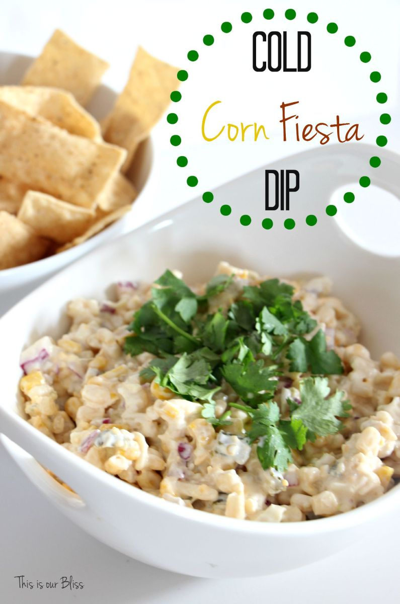5 Minute Recipe | Cold Corn Fiesta Dip