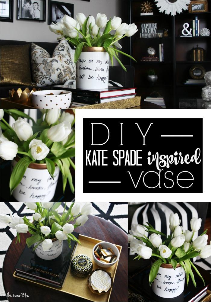 Inspired by DIY | Kate Spade Inspired Vase