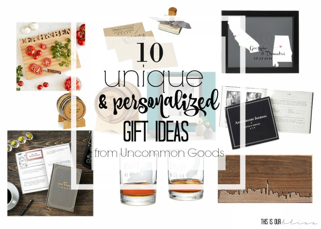 Where to buy unique and personalized gifts 10 unique and personalized gift ideas from uncommongoods this is our bliss solutioingenieria Images