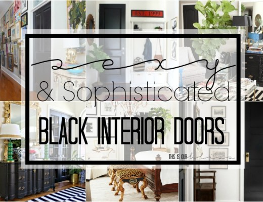 Sexy-sophisticated-black-interior-doors | This is our Bliss