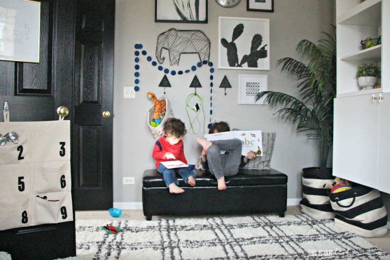 bold-modern-playroom-in-action - This is our Bliss