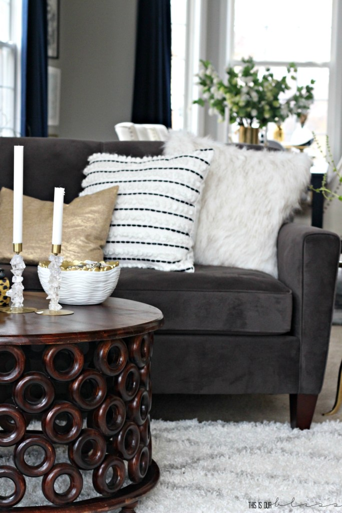 How to Style a Sofa | 2 different Ways to Style a Sofa | This is our Bliss