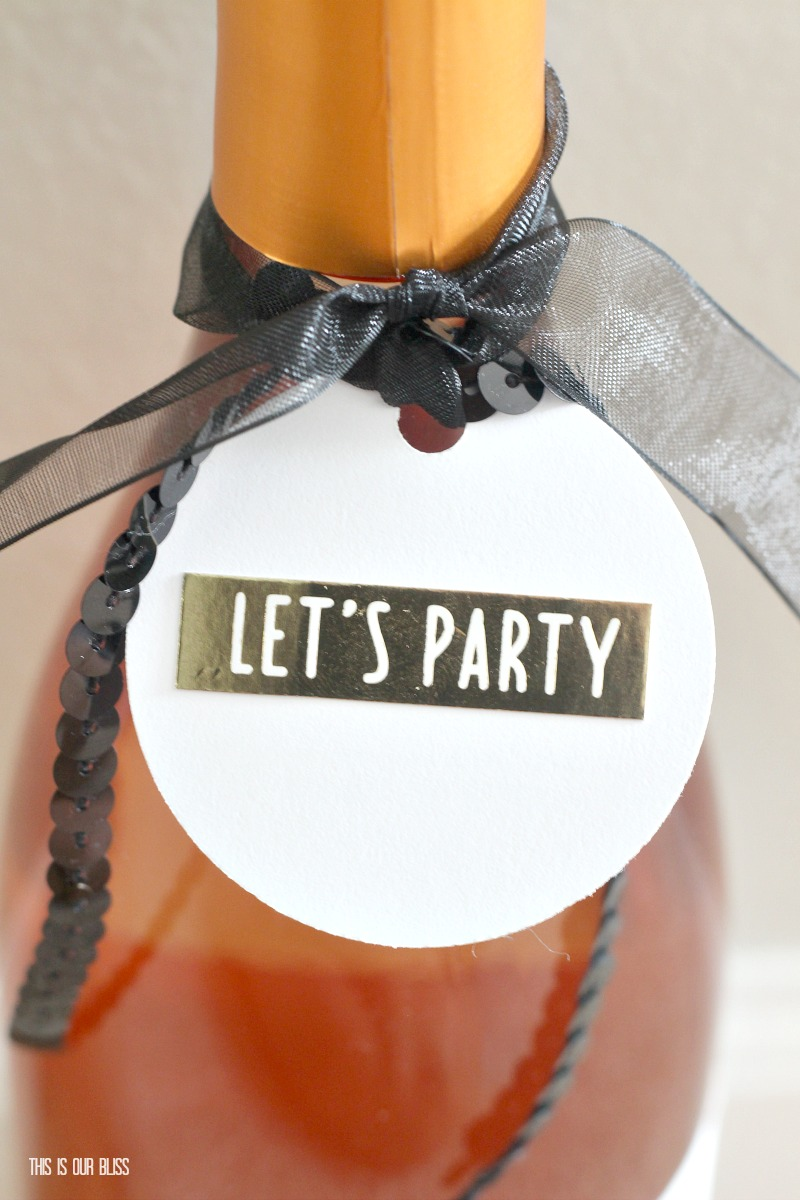 DIY Simple, Sweet Sayings Gift Tags | This is our Bliss