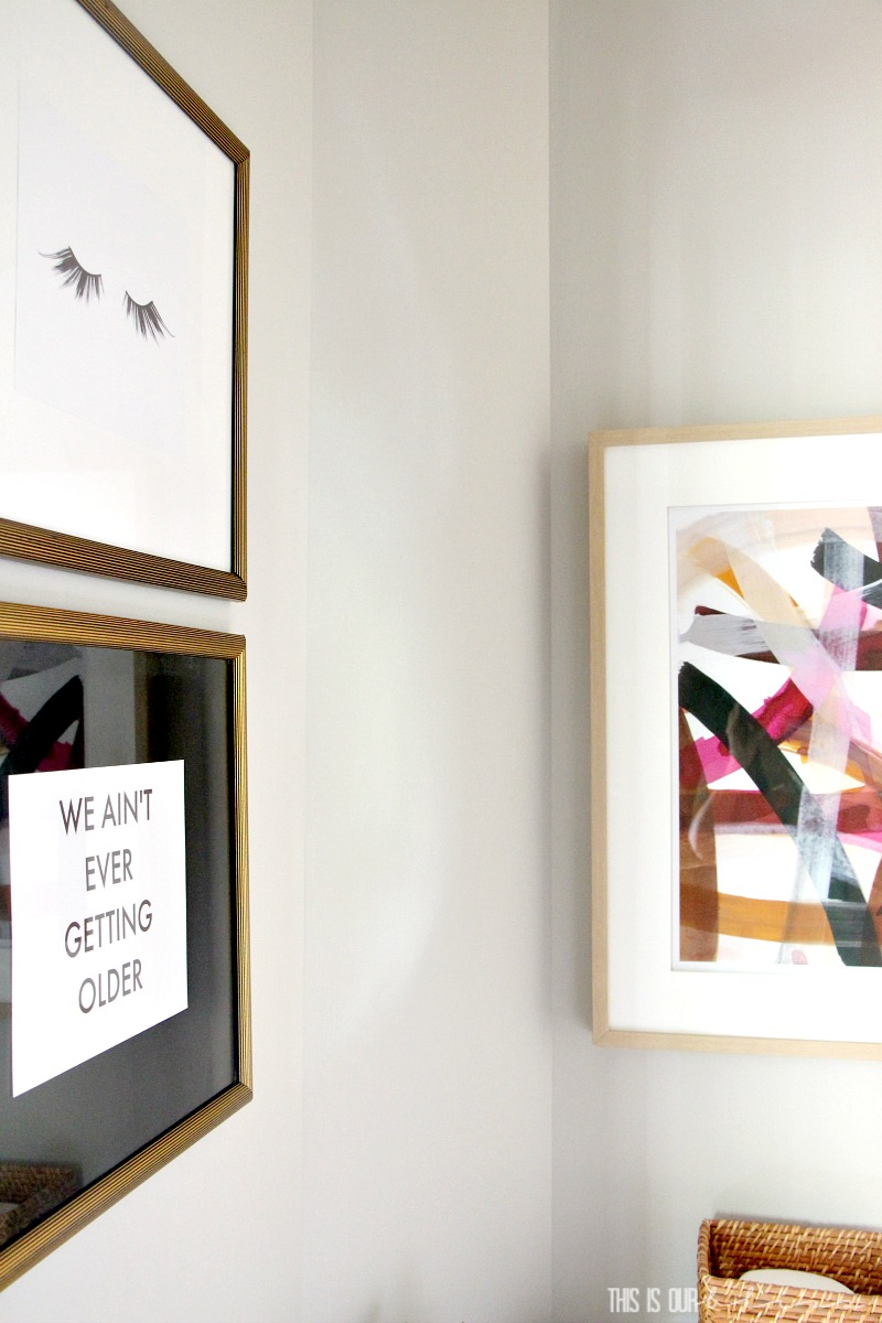 DIY Art on the Cheap | Tips for using thrifted frames to decorate