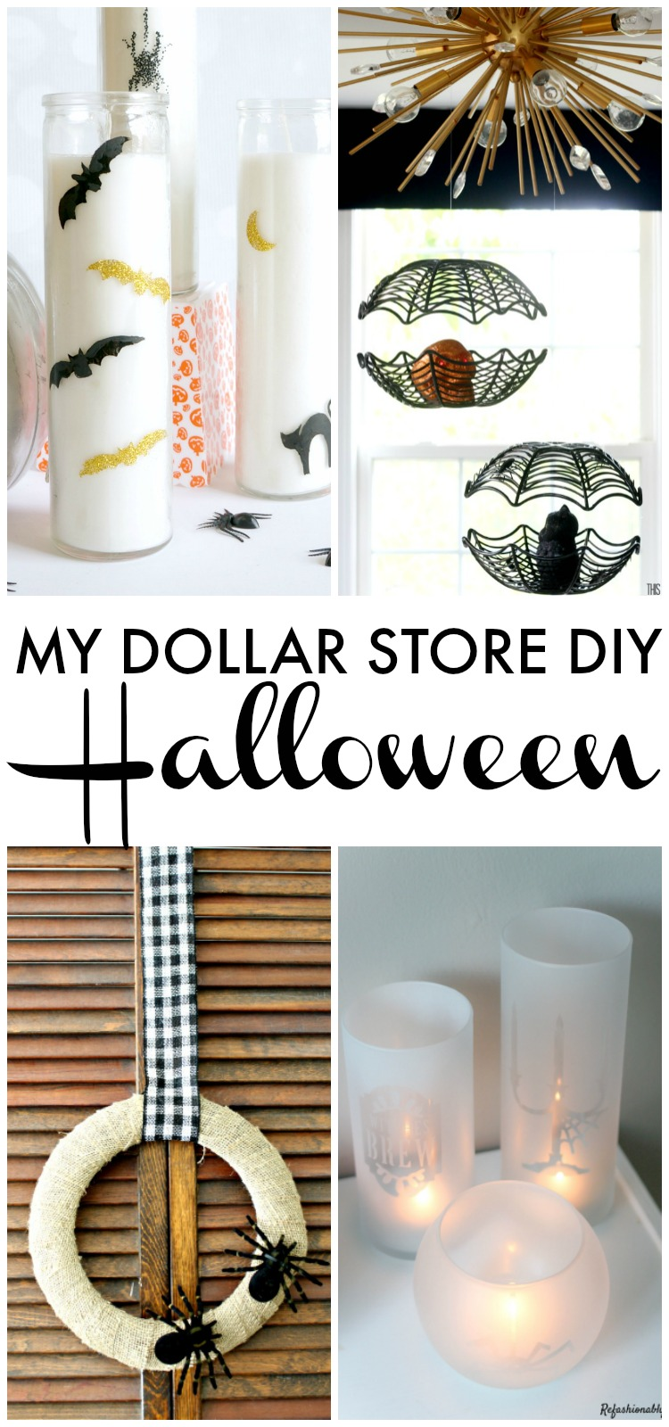 My Dollar Store DIY - Halloween projects using Dollar Store supplies