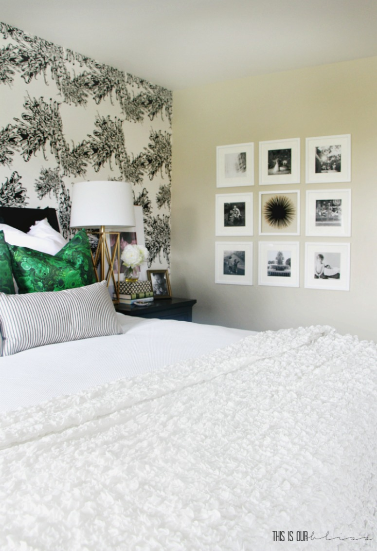 Simple Bedroom Updates simple tips for how to hang a gallery wall | this is our bliss