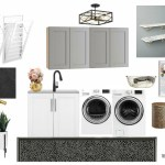 Laundry Room Plans - Mood board and vision for the new laundry room space!