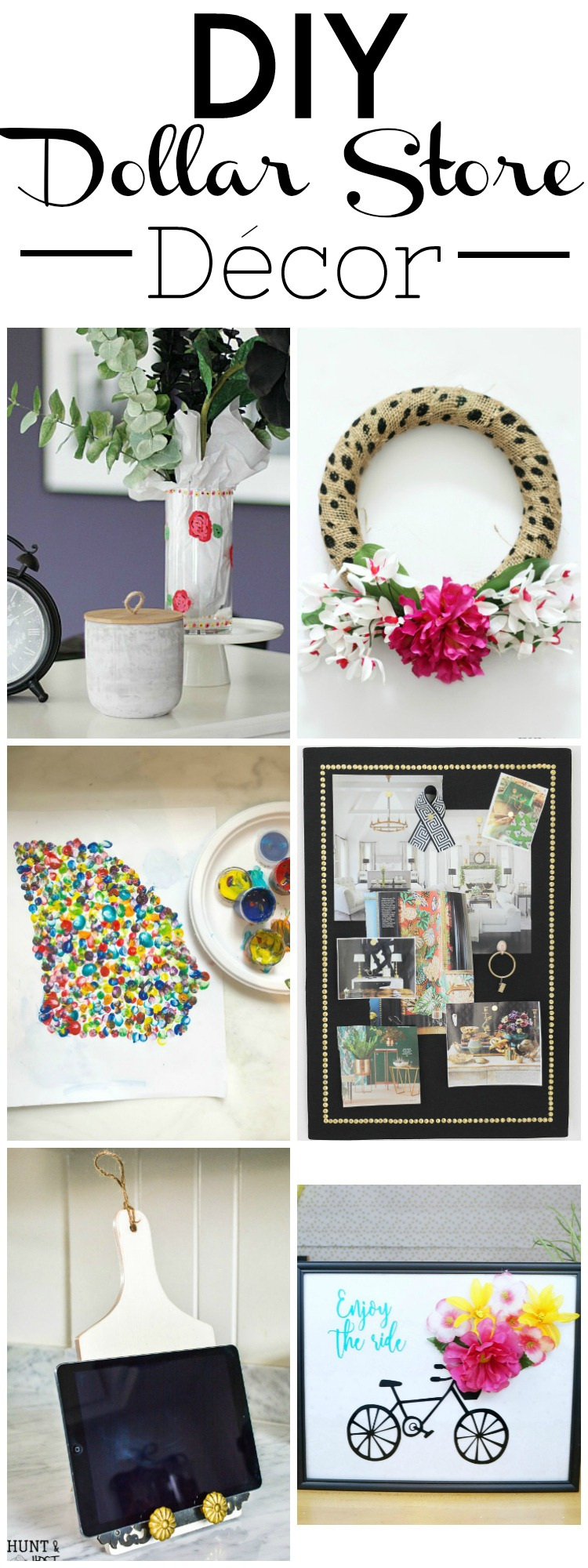 My Dollar Store DIY - 6 DIY Dollar Store Home Decor Projects!