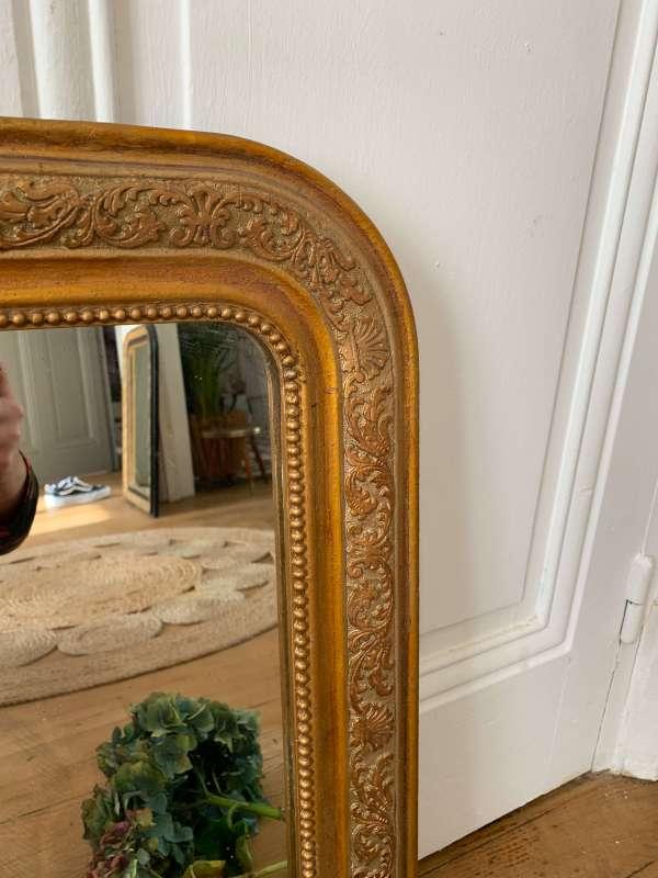 ancien miroir louis philippe