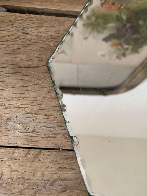 ancien miroir vintage biseauté