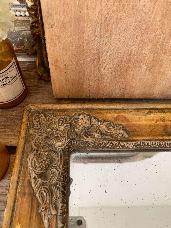 ancien miroir empire 19eme