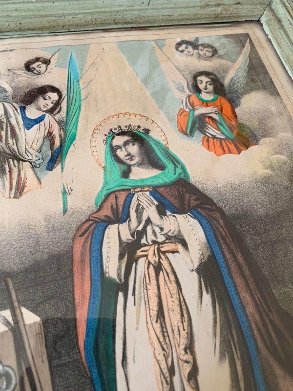 sainte joséphine ancienne gravure 19eme