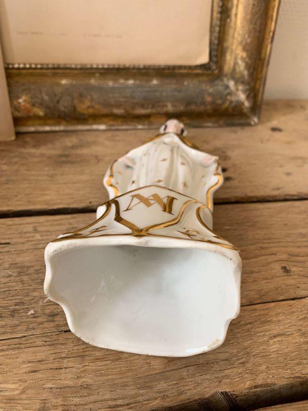 ancienne vierge en porcelaine 19eme