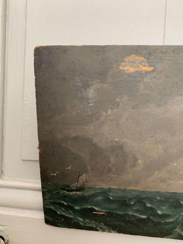 peinture à l'huile marine