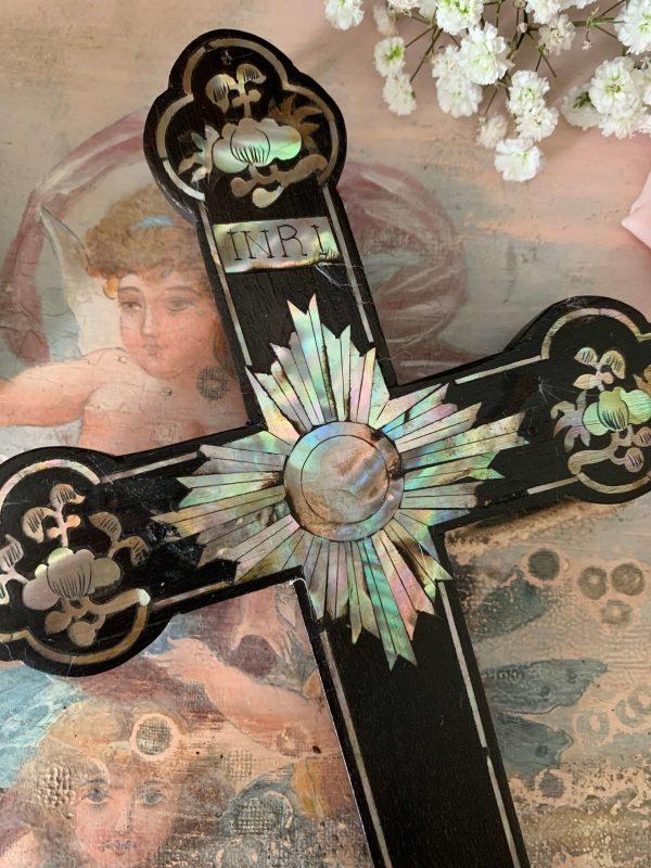 ancienne croix en bois xixeme