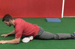 Open up your hips with a pigeon stretch