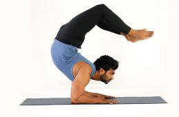 How to stretch for scorpion pose