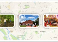 map of wonford with small pictures of wonford