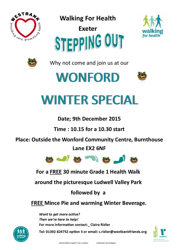 Wonford winter speical event poster
