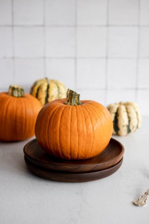 Pie pumpkins to make your own pumpkin purée