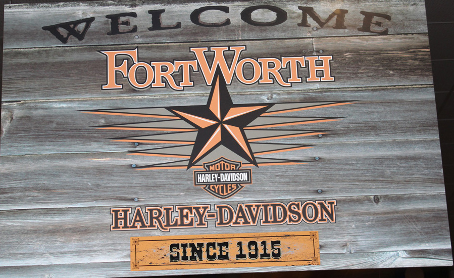 Harley Davidson- Celebrating 100 Years in Fort Worth, Texas