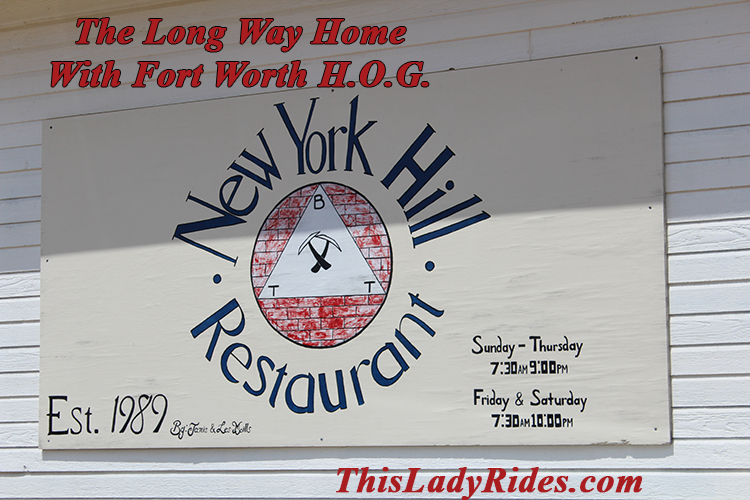 The Long Way Home: New York Hill