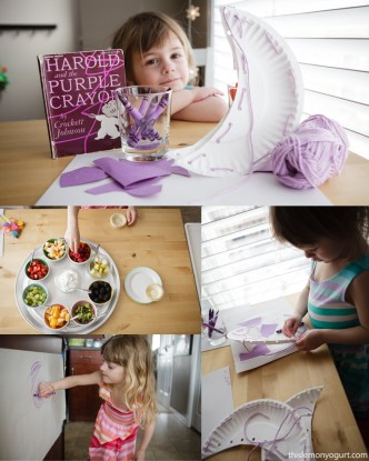 Baby Book Club- Harold and the Purple Crayon {this lemon yogurt}