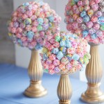 lollipop bouquet, topiary, candy bar, wedding