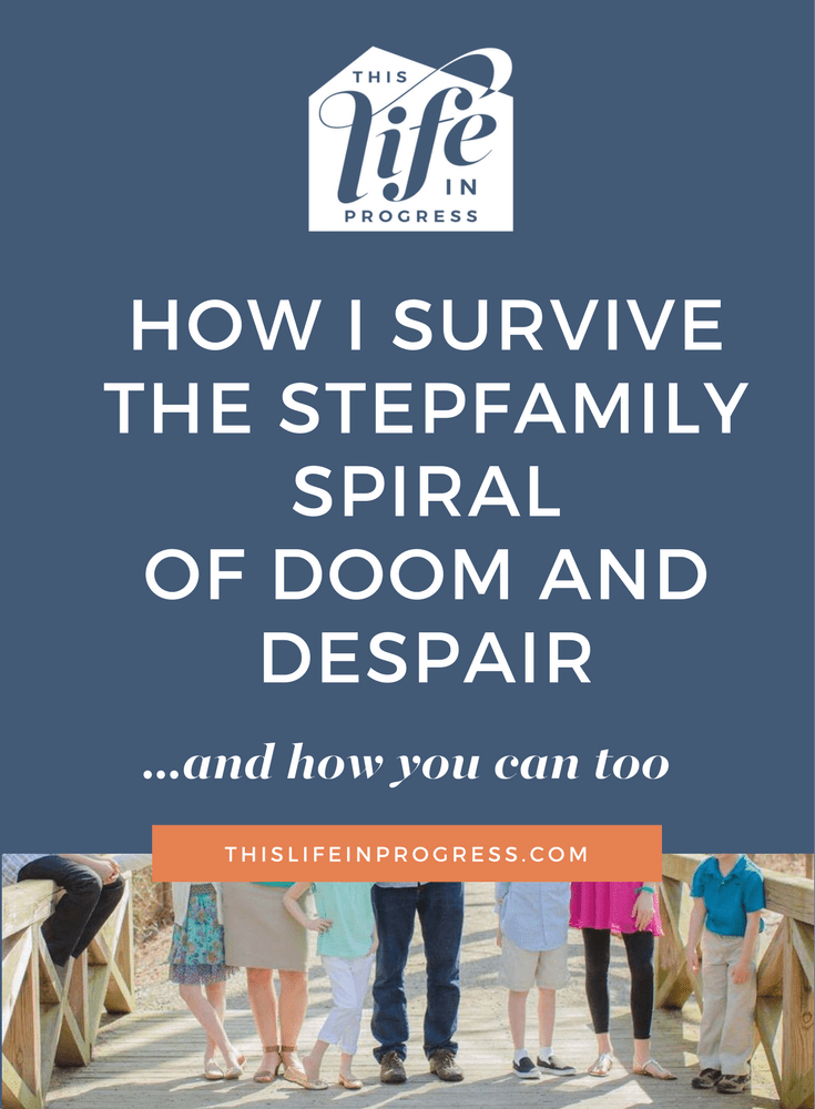 Stepfamily help | Blended family support | Coping with coparenting | Tips for parenting after divorce | Stopping the spiral | Help for Stepmoms
