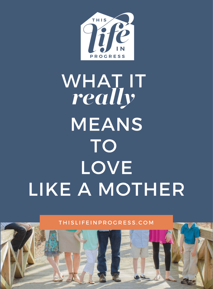 Mothering |  Love Like a Mother | Parenting | Stepmother | Foster Mother | Blended Family | Single Mom | Truth
