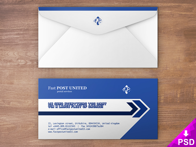 Envelope Design Mock Up