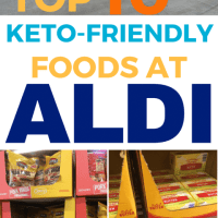 Keto at Aldi! My top 10 low carb foods to buy at Aldi {Plus 5 to get somewhere else}
