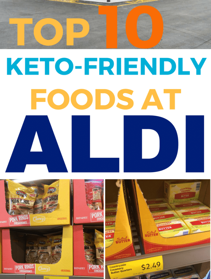 Keto at Aldi! My top 10 low carb foods to buy at Aldi {Plus 5 to get