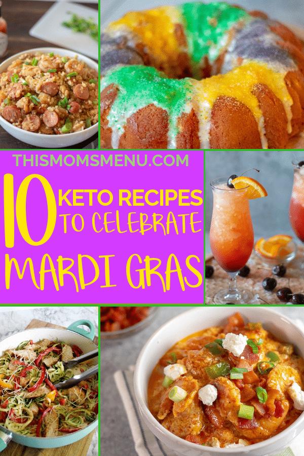 10 Keto Recipes to Celebrate Mardi Gras