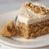 Keto Carrot Cake with Cream Cheese Frosting
