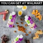grab and go keto snacks from walmart with text overlay