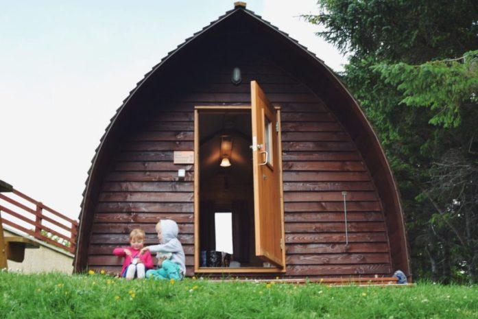 wigwam, Isle of Lewis, Outer Hebrides