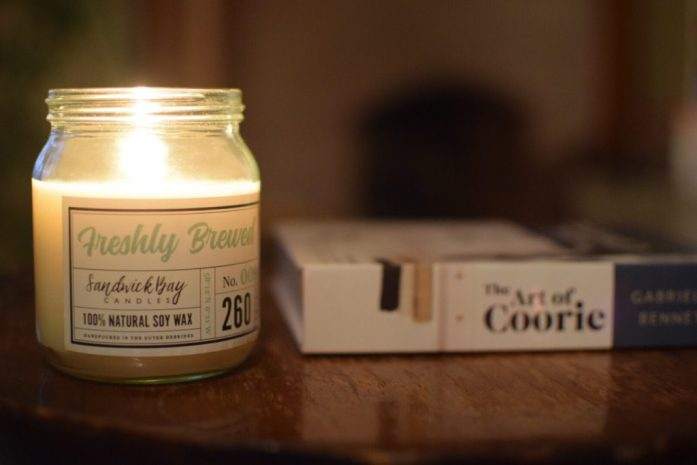 Sandwick Bay Candles and The Art of Coorie