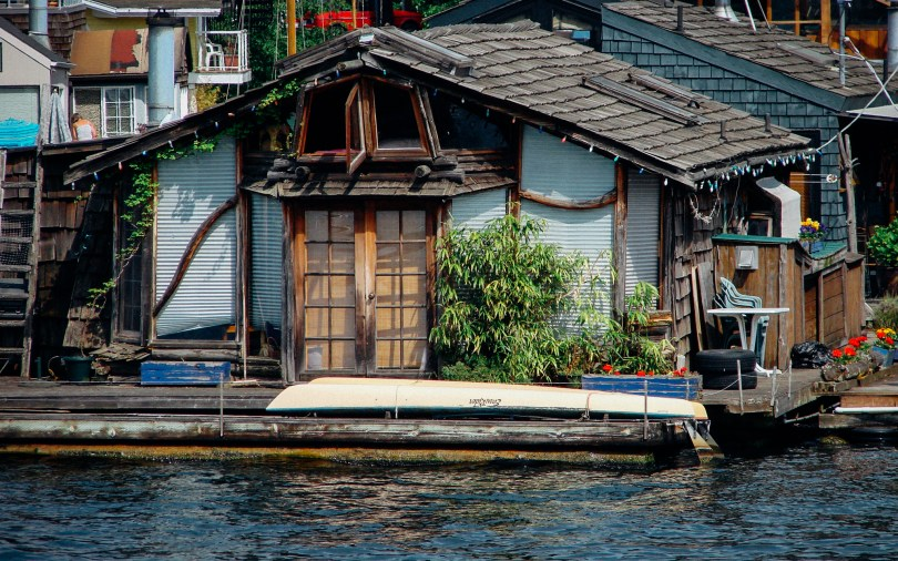 Houseboat in Seattle