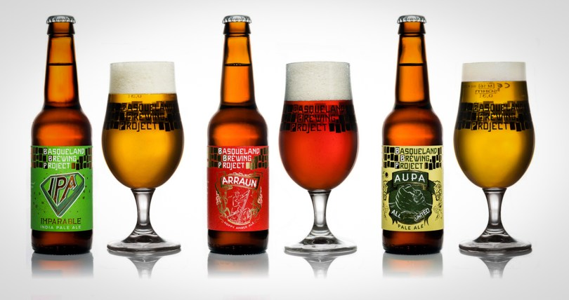 Some of Basqueland Brewing Project's beers