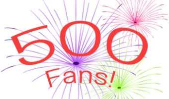 500 Facebook Fan Giveaway: $10 Amazon Gift Card!