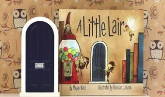 Mamapedia: A Little Lair Illustrated Storybook & Miniature Magical Door only $15!!