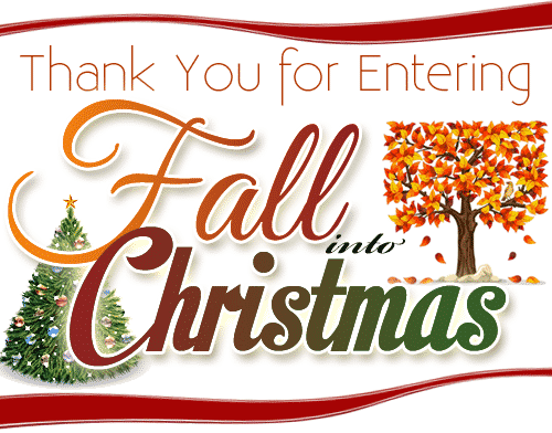Fall Into Christmas Amazon Gift Card Giveaway Thank You