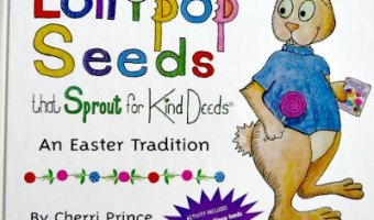 Enter to #Win Lollipop Seeds book– Perfect for #Easter!