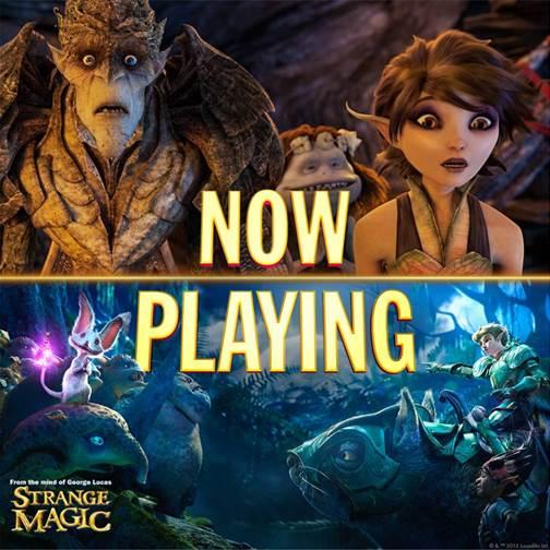 Strange Magic Now Playing