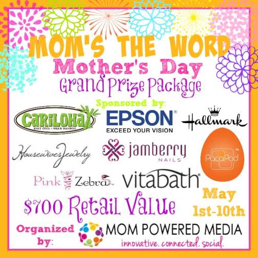 Moms the Word Grand Prize
